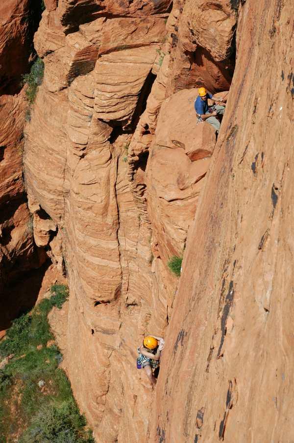 Rock Climbing Zion National Park