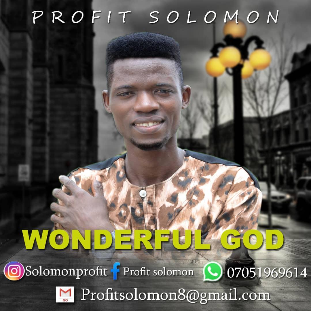 DOWNLOAD music: SOLOMON PROFIT – WONDERFUL