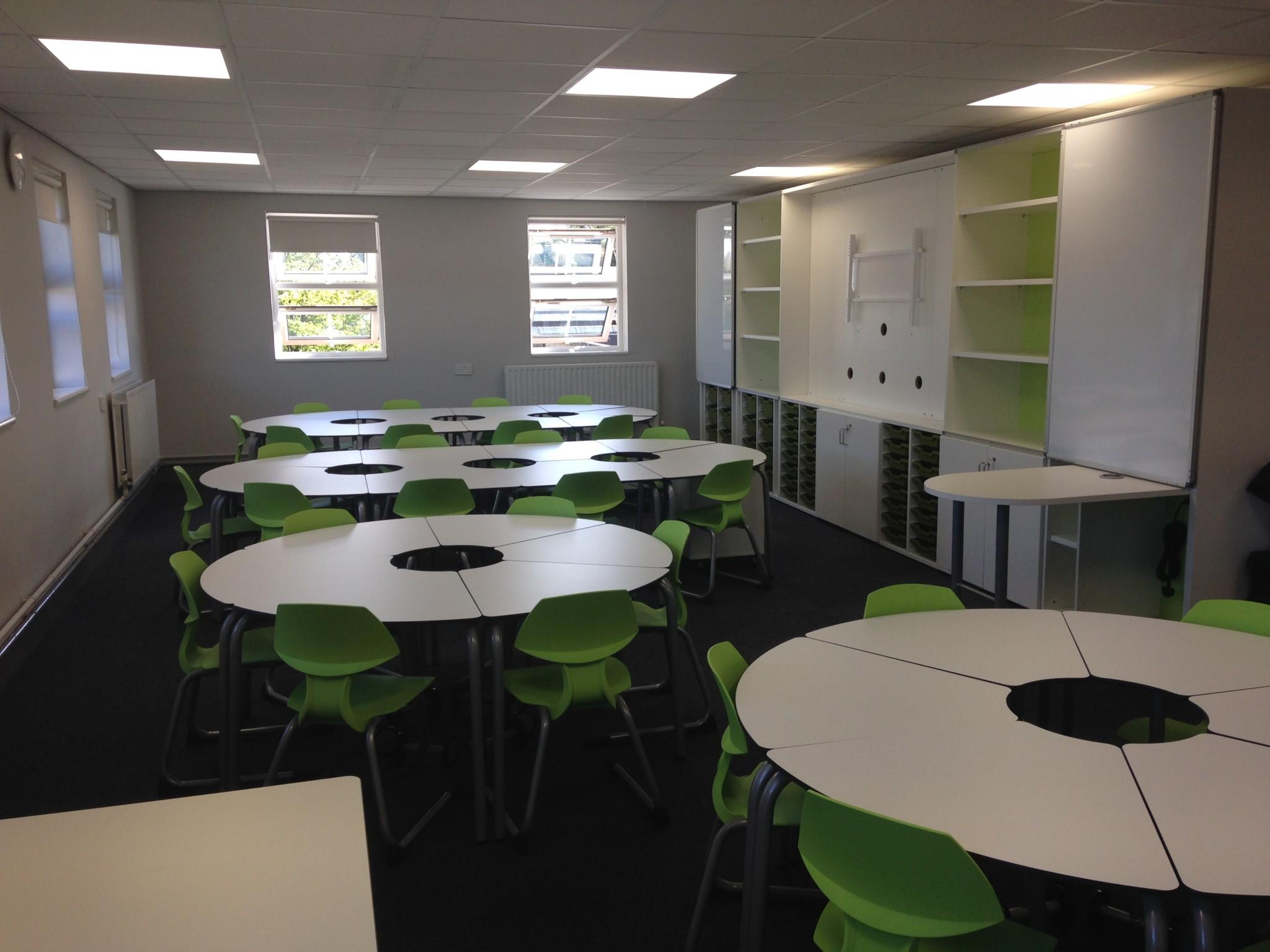 Flexible Classroom Design And Install