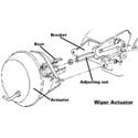 C3 Corvette Wiper Door Actuator (1968-1982)