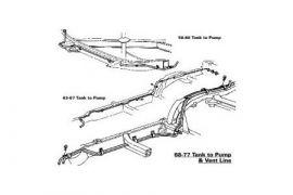 C3 Corvette Fuel Lines (1968-1982)