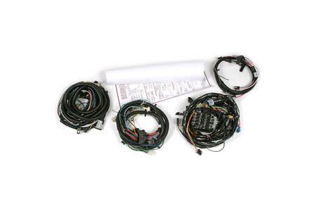 1978 Corvette w/ Rear Speakers Wiring Harness Package (2nd