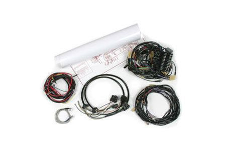 1958-1959 Corvette Manual Wiring Harness Package