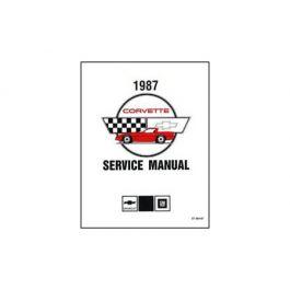1987 Corvette Shop/Service Manual