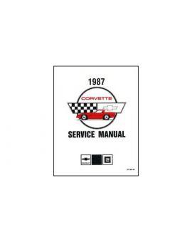 1987-1988 Corvette Electrical Manual CD