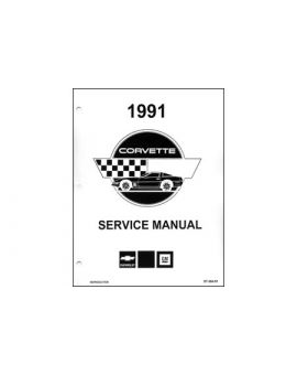 1991 Corvette Shop/Service Manual on CD