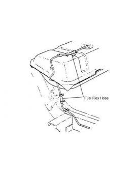 C1 Corvette Fuel System Parts (1953-1962)