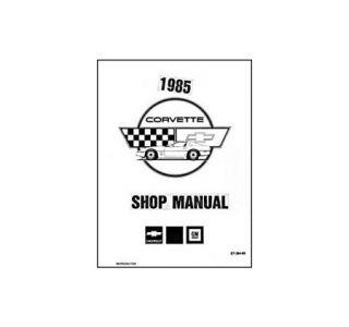 1985 Corvette Parts an Accessories