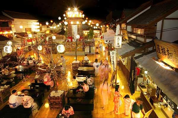 大江戶溫泉物語   旅遊景點   日本見聞錄