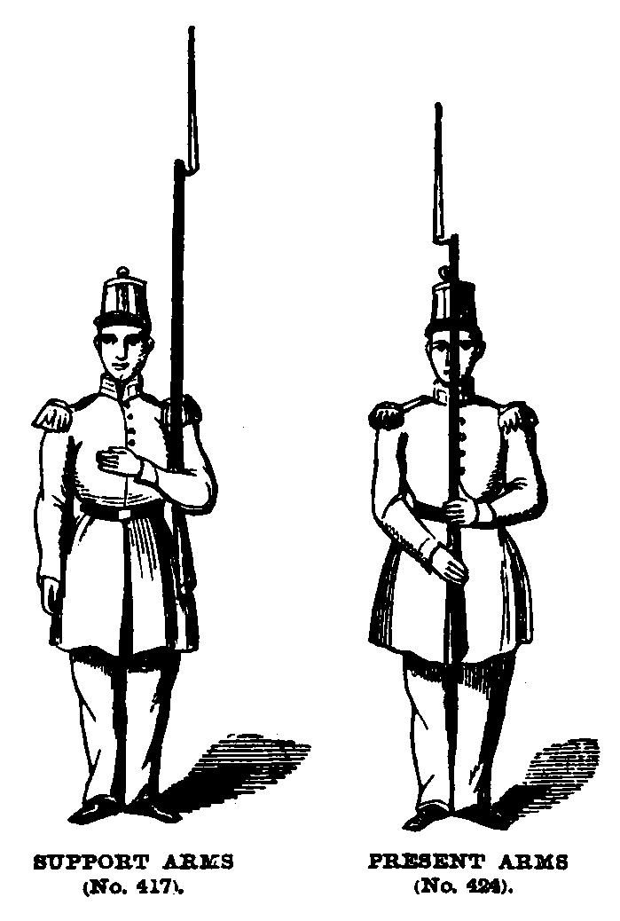 Manual of Arms for the Musket and Other Instruction for