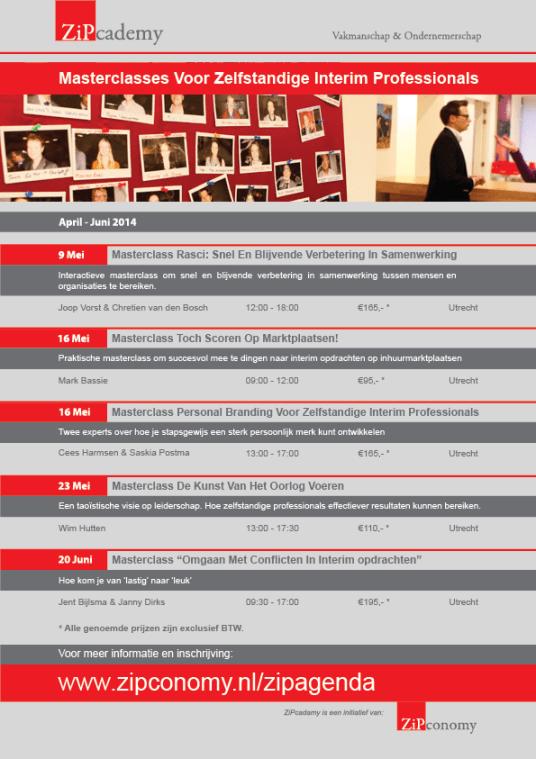 ZiPcademy programma mei juni