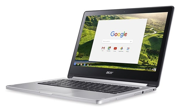 Acer R13 Chromebook side