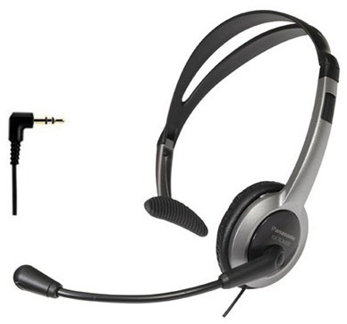 Headset for cordless phone