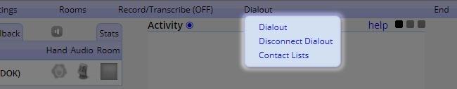 Host Controls - Dialout