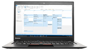 OutlookCalendar in Lenovo X-1-Carbon