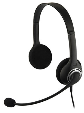 VXi Envoy Office 2031U Stereo USB Headset for UC
