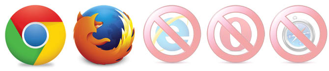 web-phone-browser-icons