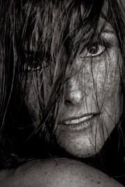 Carina Sommersprossen nasse Haare Shooting 5