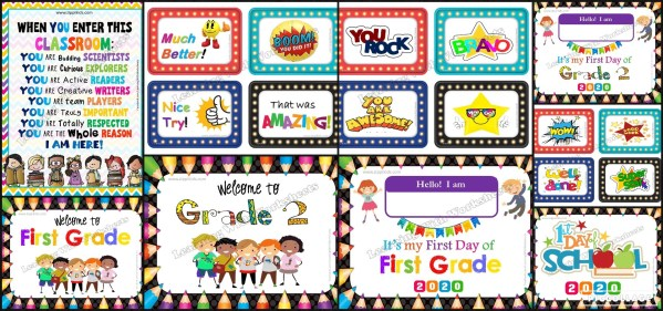 Welcome to First & Second Grade