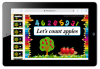 Number Counting Apple Activity