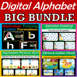 Digital Alphabet Bundle