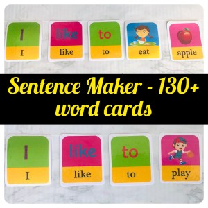 Sentence Maker with Visuals