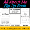 All About Me Flip-up book