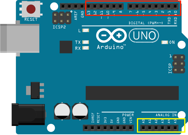 Interfacing the Arduino with Custom Circuits - Zippy