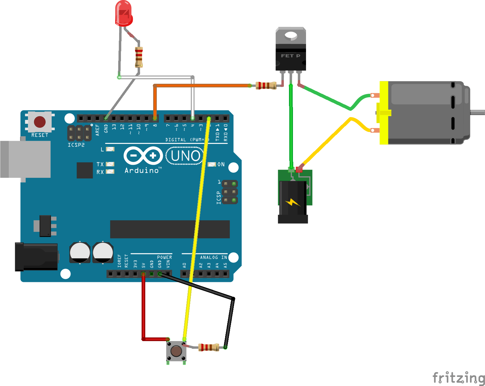Awesome Interfacing The Arduino With Custom Circuits Zippy Robotics Inc Wiring Digital Resources Remcakbiperorg
