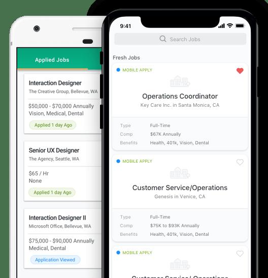 Job Search App  ZipRecruiter