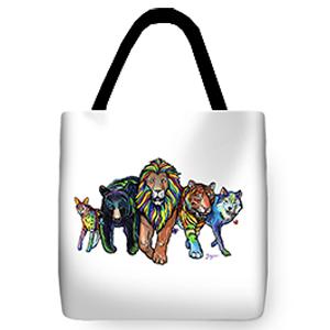 Rainbow Animals Bag