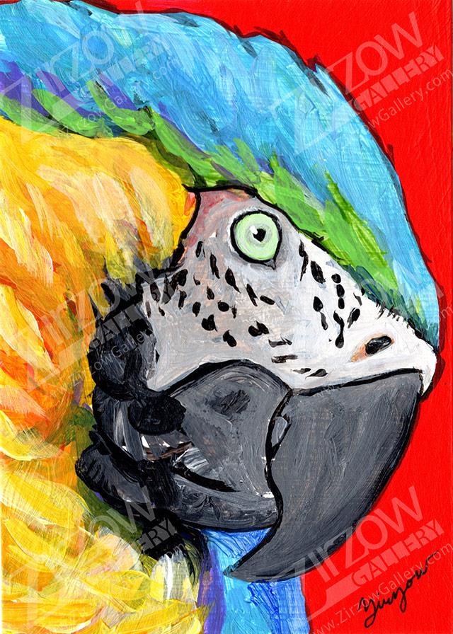 Macaw Miniature Masterpiece