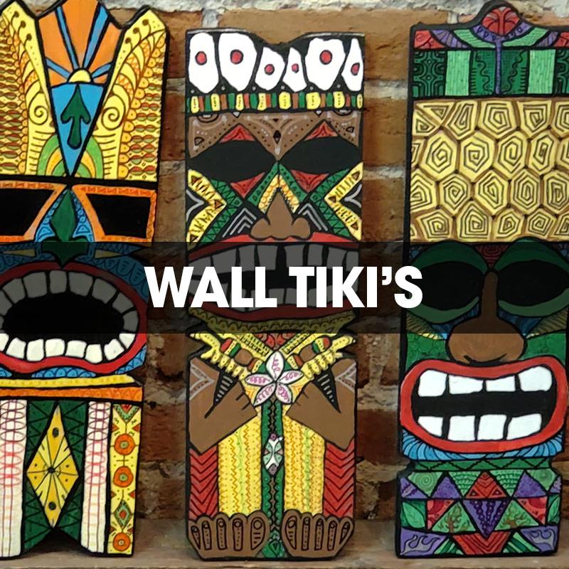 Wall Tikis
