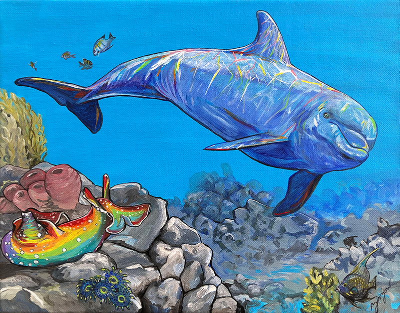 The Dolphin and the Sea Hare
