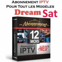 Abonnement Code iPTV DreamSat (12 Mois)