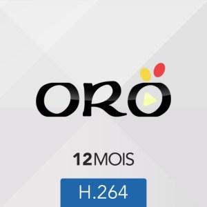 ABONNEMENT ORO IPTV - 12 mois