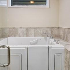 Commercial Chair Rail Purple Velvet Covers Walk In Tub Bathroom Remodeling Baton Rouge | Zitro Construction