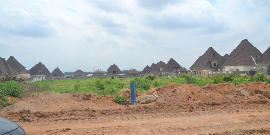 RESIDENTIAL LAND FOR 3 BEDROOM PENT HOUSE
