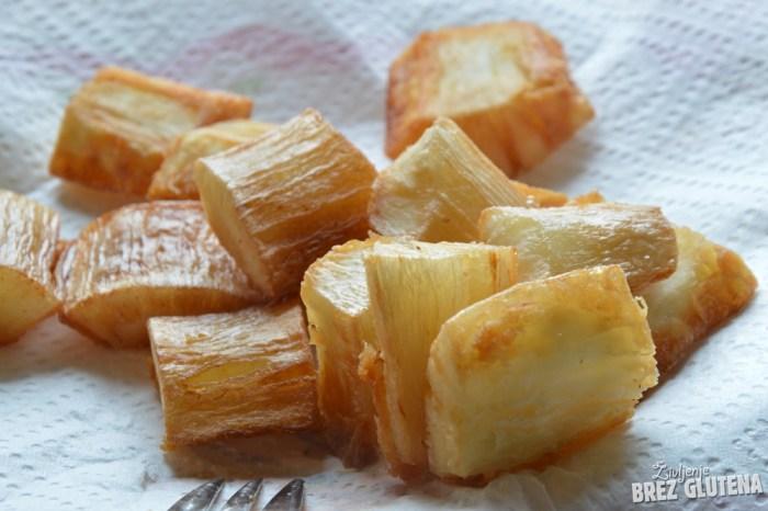 manioka pečena