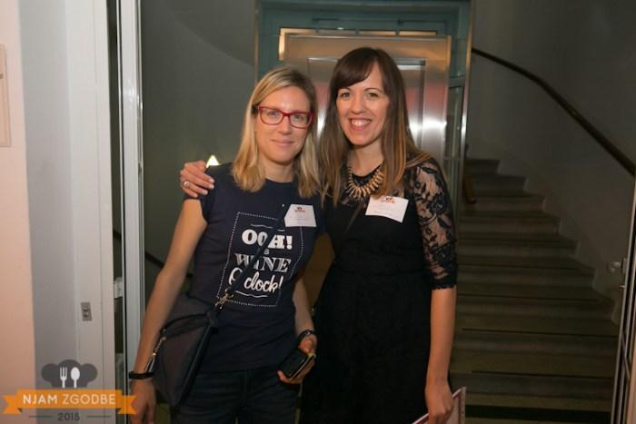 organizatorki Iva in Mateja