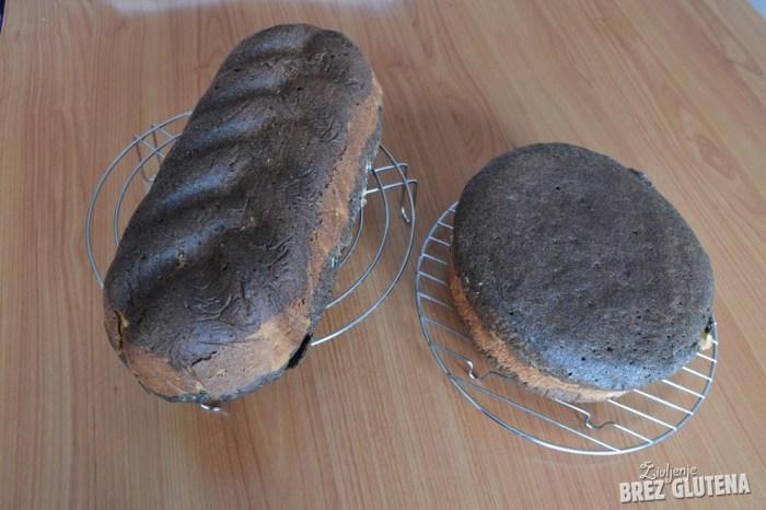 brezglutenski kvinojin kruh z indijskim trpotcem 7