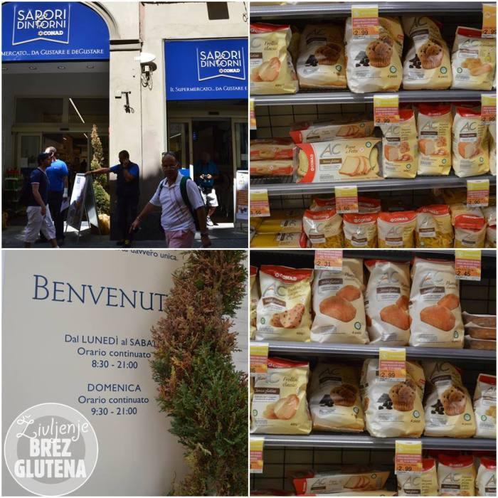 BG hrana v Firencah