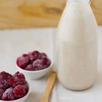 Superfood Breakfast: Raspberry Almond Milk Smoothie