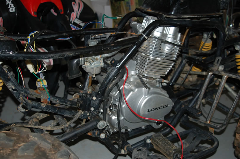 110 Cc Motor Wiring Diagram Where To Find Exhaust System For 200cc Loncin
