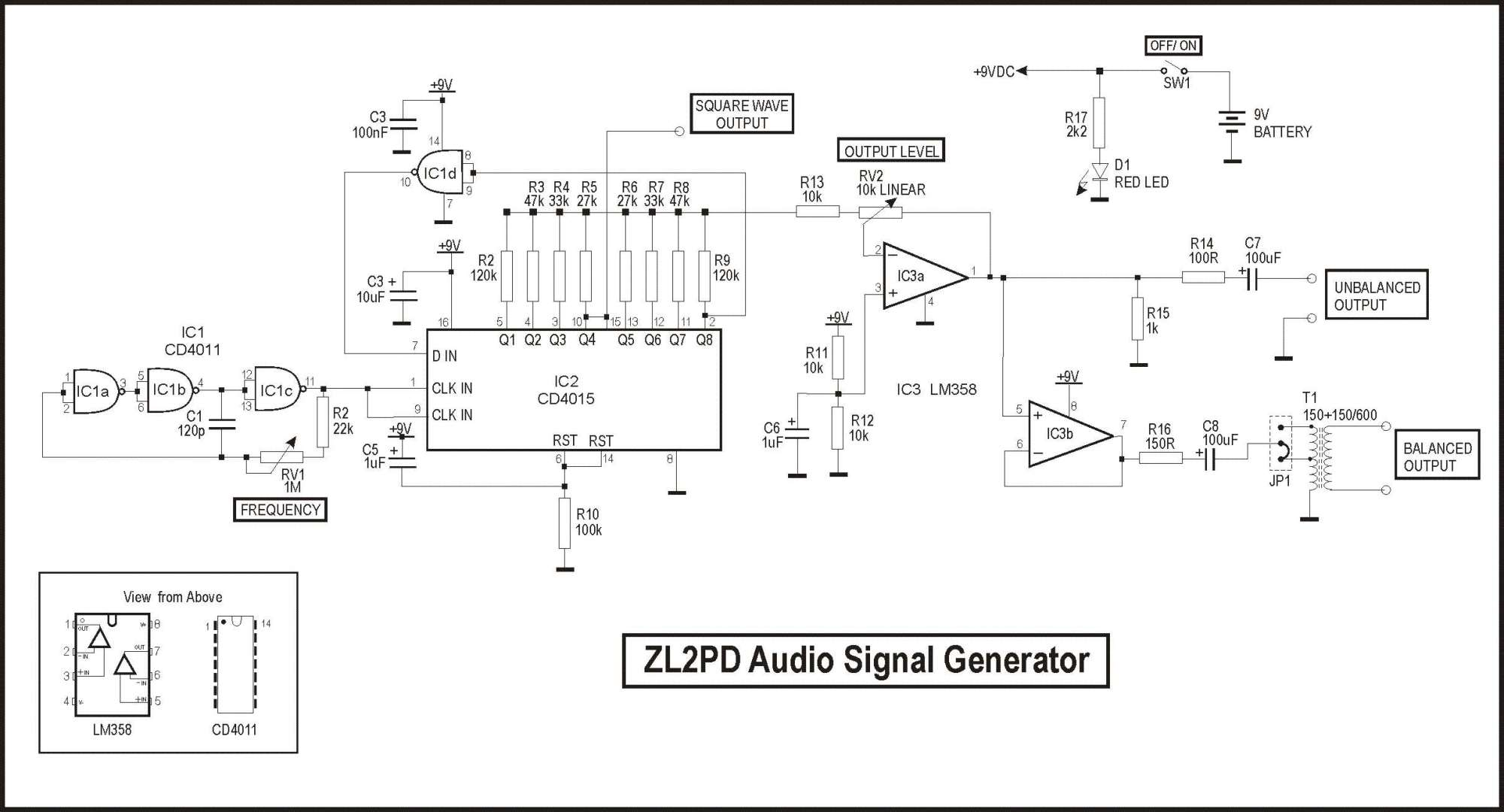 hight resolution of zl2pd audio signal generator step 7 waveform generator schematic