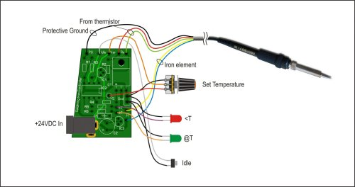 small resolution of wiring details for the soldering station