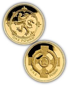 25th Anniversary £1 Gold Proof Collection
