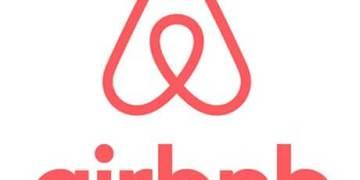 Airbnb logo obchodu