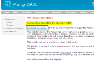 2017-01-14-003-PostgreSQL-Download-Page-Windows-Installer-EnterpriseDB