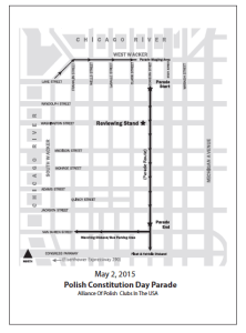 Route Map and Staging Area